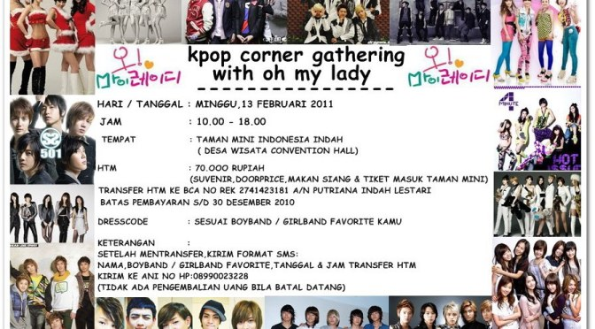 KPOP CORNER (POPCORN) GATHERING WITH OH MY LADY