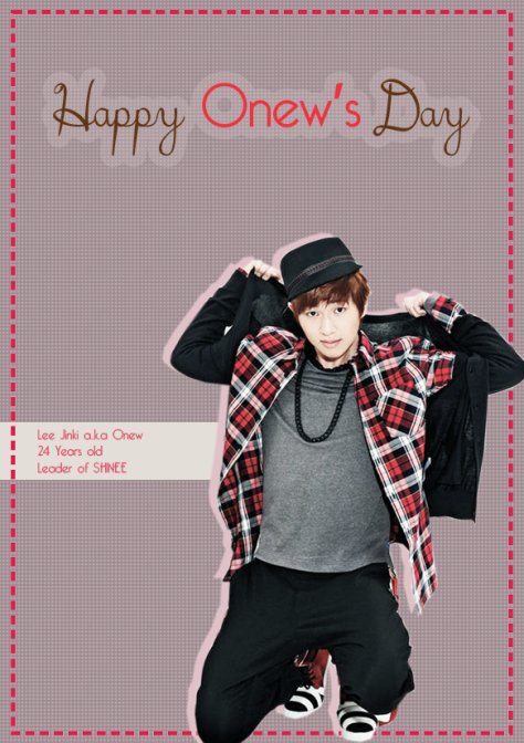 onew-Day