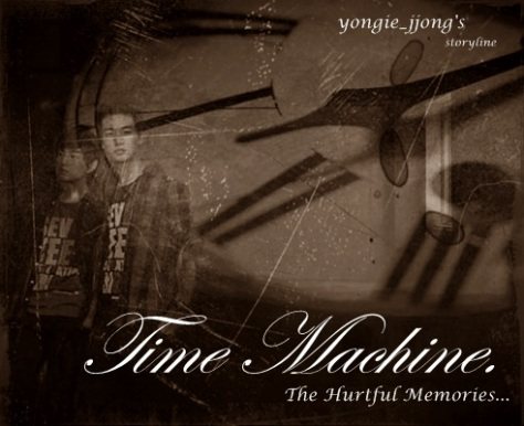 cover ff time machine - the hurtful memories