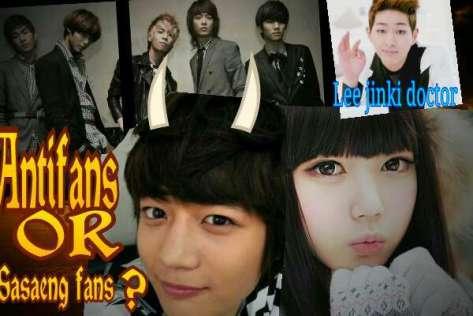 antifans or sasaeng fans