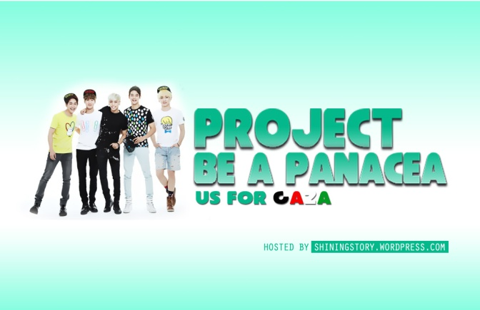 BE A PANACEA: US FOR GAZA